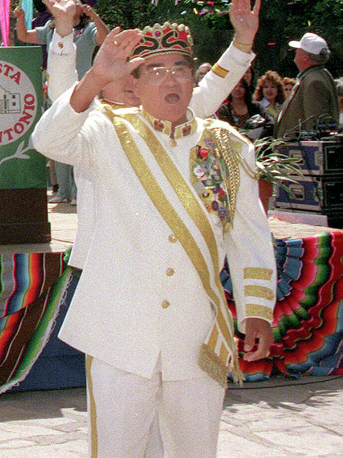 1999, Pete Martinez: Rey Feo LI. Photo: San Antonio Express-News File Photo / SAN ANTONIO EXPRESS-NEWS