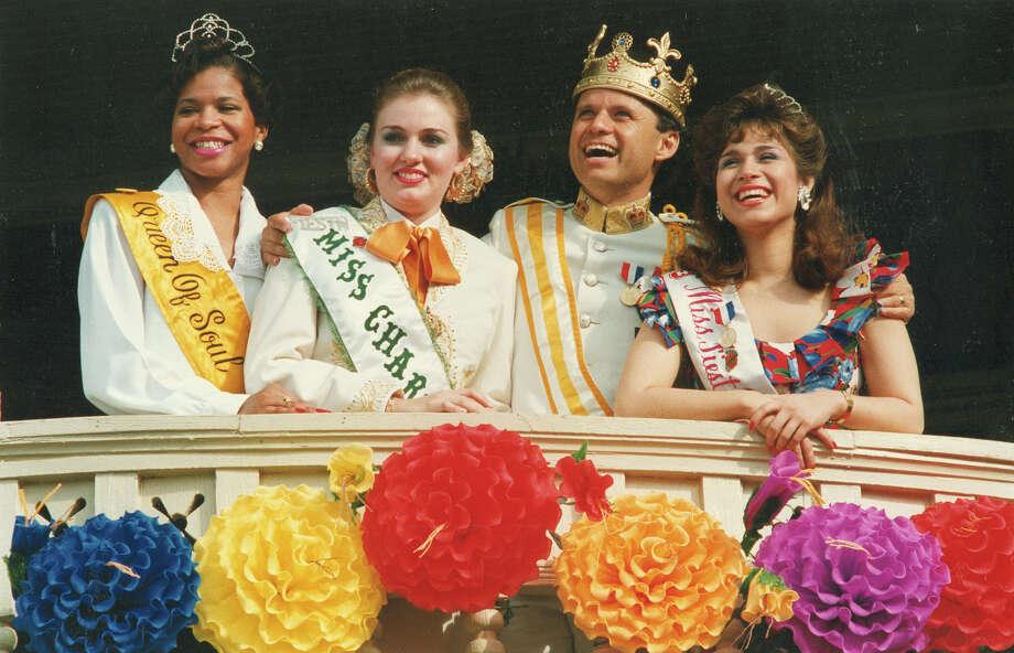 1990, Sonny Melendrez: Rey Feo XLII. Photo: San Antonio Express-News File Photo