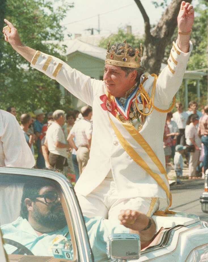 1989, Nick Garza: Rey Feo XLI. Photo: San Antonio Express-News File Photo