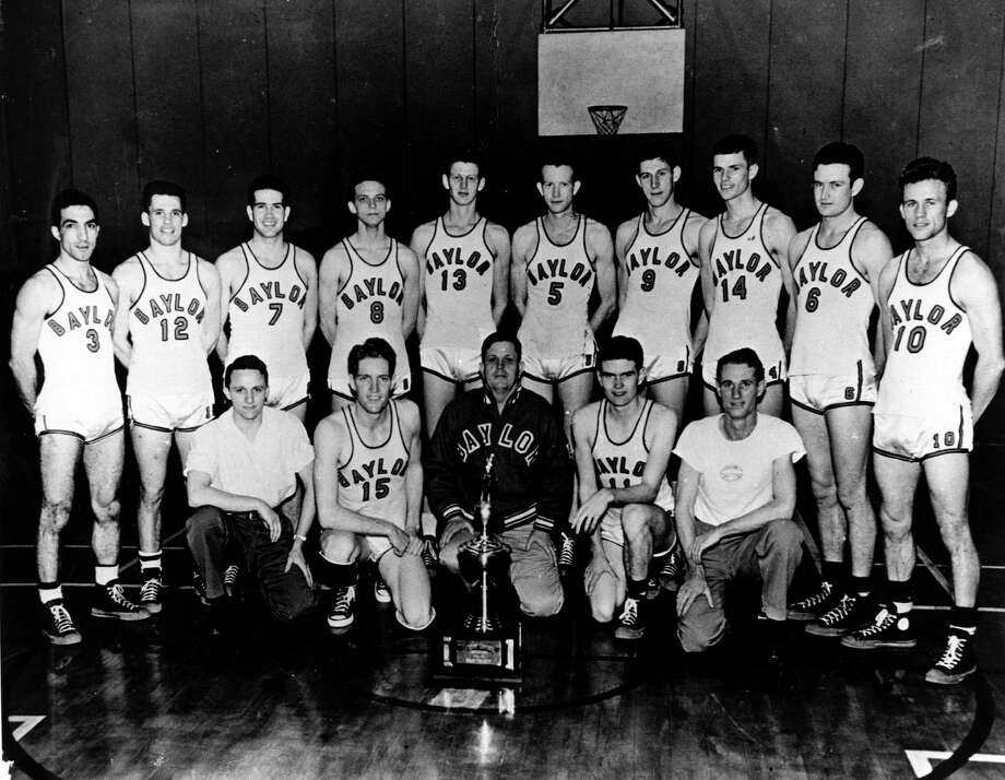 "5. 1948 Baylor: The Bears beat Washington and then Kansas State in the national semifinals to advance to the national championship game at New York City. Kentucky's ""Fabulous Five,"" coached by legendary Hall of Famer Adolph Rupp, cruised to a 58-42 victory in the final. Photo: Courtesy Photo, Courtesy Photo"