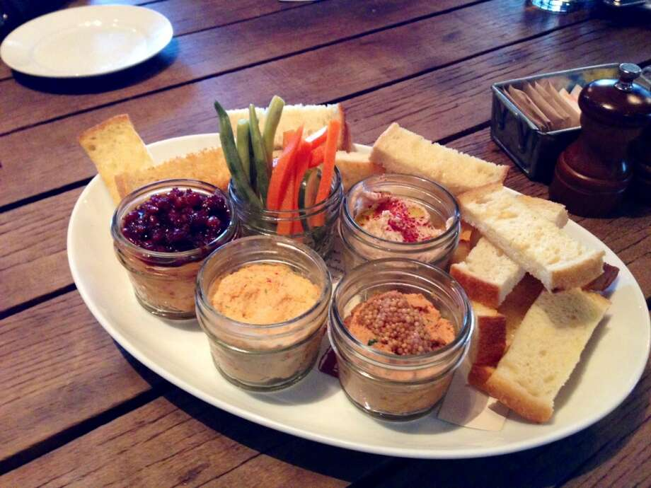 Spreads in a jar at Empire State South, Atlanta