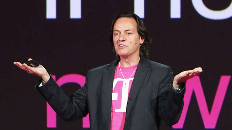 John Legere, CEO and president of T-Mobile USA. Photo: John Moore, . / 2013 Getty Images