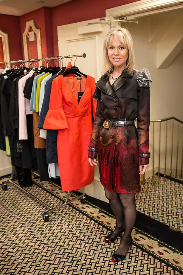Christine Suppes at ModeWalk's Spring Fashion Show and Luncheon on March 26, 2013. Photo: Drew Altizer Photography