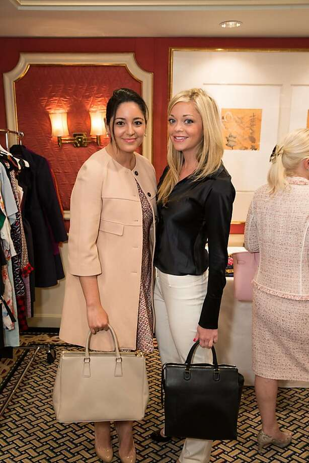 Nicolette Tortorice and Natalee Tortorice at ModeWalk's Spring Fashion Show and Luncheon on March 26, 2013. The preview took place at Taj Campton Place in San Francisco to celebrate the opening of ModeWalk's first by-appointment salon, Boudoir. Photo: Drew Altizer Photography