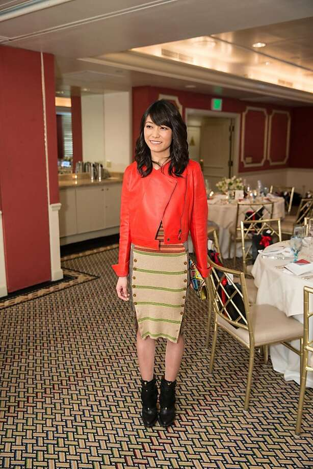 Beatrice Pang at ModeWalk's Spring Fashion Show and Luncheon on March 26, 2013. Photo: Drew Altizer Photography