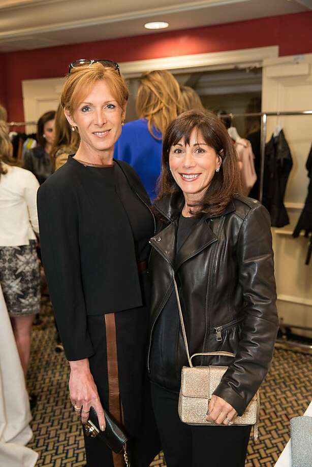 Anitra Bowers and Lisa Schatz at ModeWalk's Spring Fashion Show and Luncheon on March 26, 2013. Photo: Drew Altizer Photography