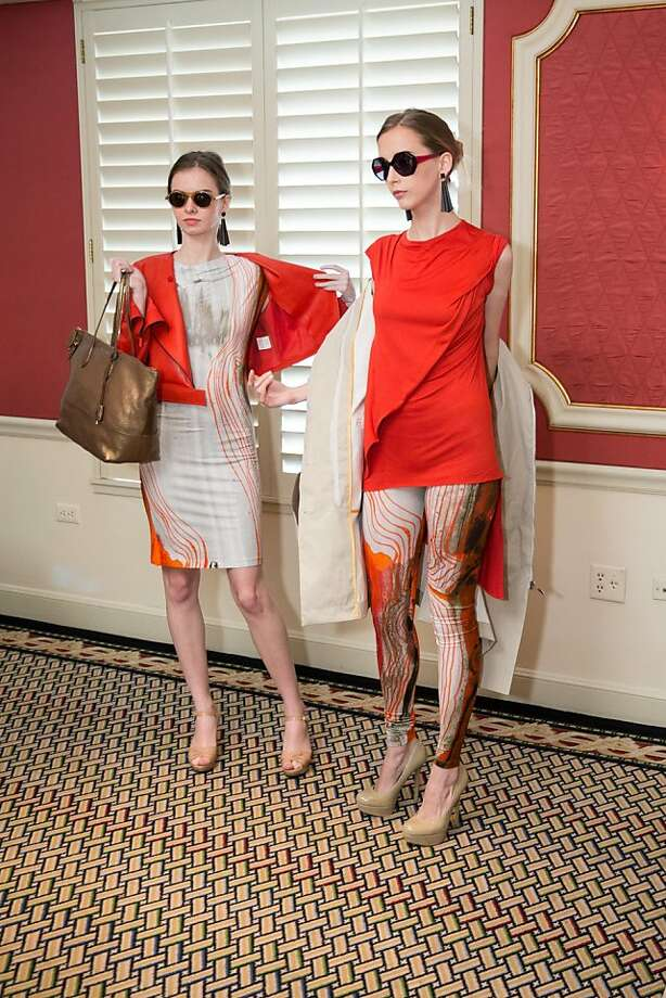 Models display new designs during ModeWalk's Spring Fashion Show and Luncheon on March 26, 2013.  Photo: Drew Altizer Photography