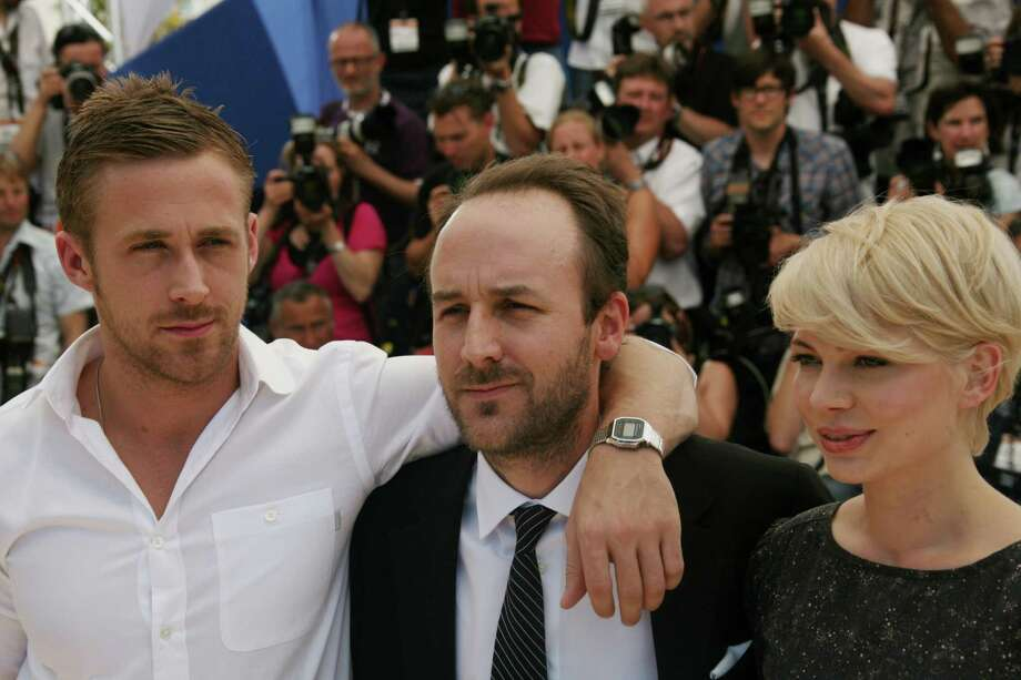Now the arm's over Blue Valentine director Derek Cianfrance (center). Photo: LOIC VENANCE, AFP/Getty Images / 2010 AFP