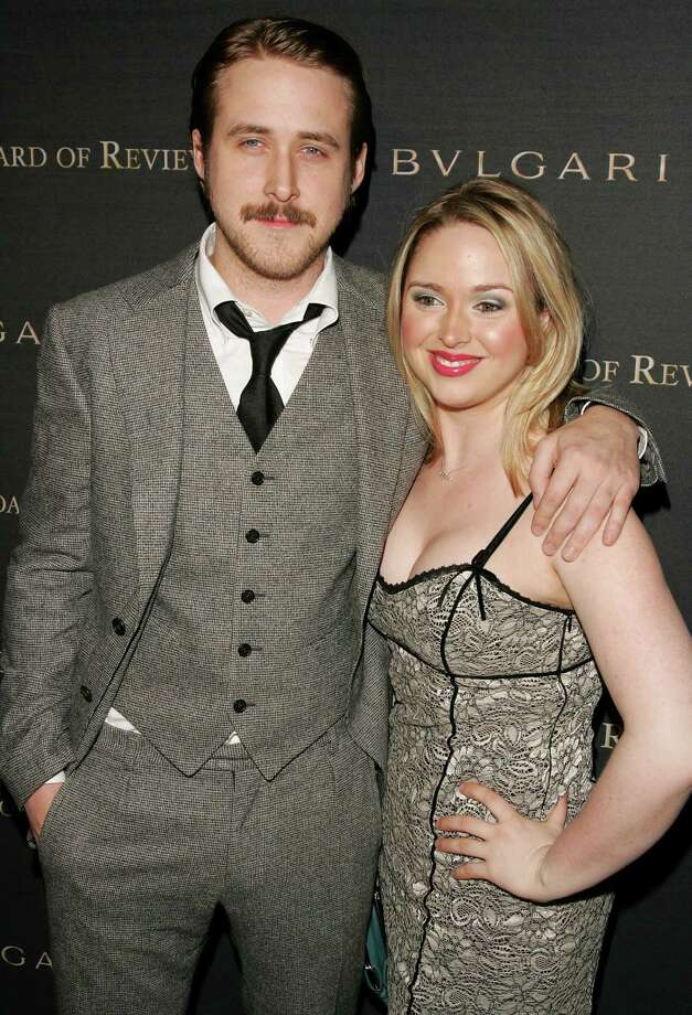 Ryan Gosling and sister Mandy Gosling in 2007. Photo: Peter Kramer, Getty Images / 2007 Getty Images
