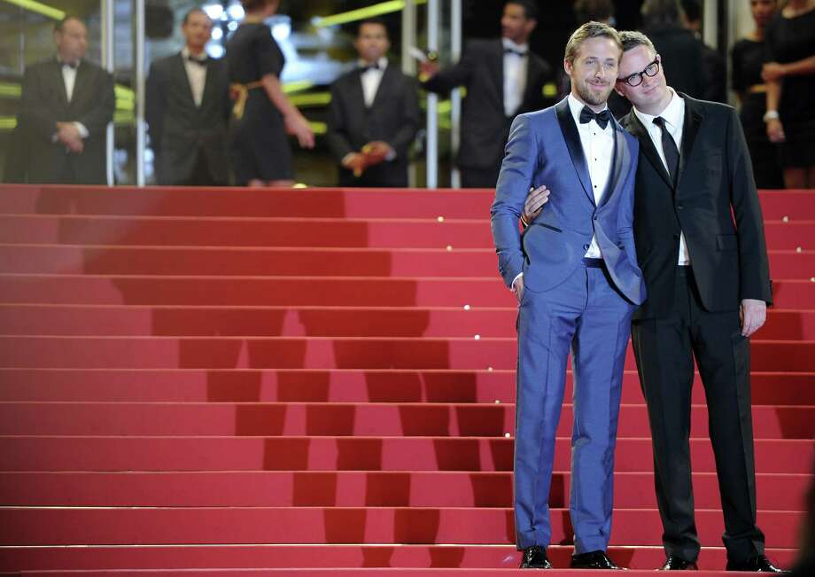 Ryan Gosling (left) with Drive director Nicolas Winding Refn. Photo: ANNE-CHRISTINE POUJOULAT, AFP/Getty Images / 2011 AFP