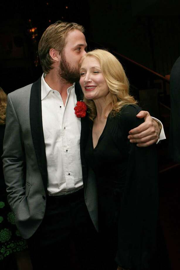 ... and Patricia Clarkson (2007 co-star in Lars and the Real Girl) Photo: Michael Buckner, Getty Images / 2007 Getty Images