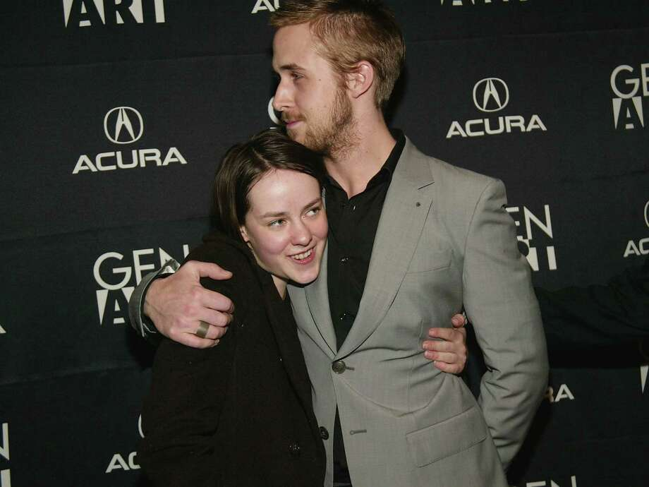 ... and with Jena Malone (2004 co-star in The United States of Leland) Photo: Evan Agostini, Getty Images / 2004 Getty Images