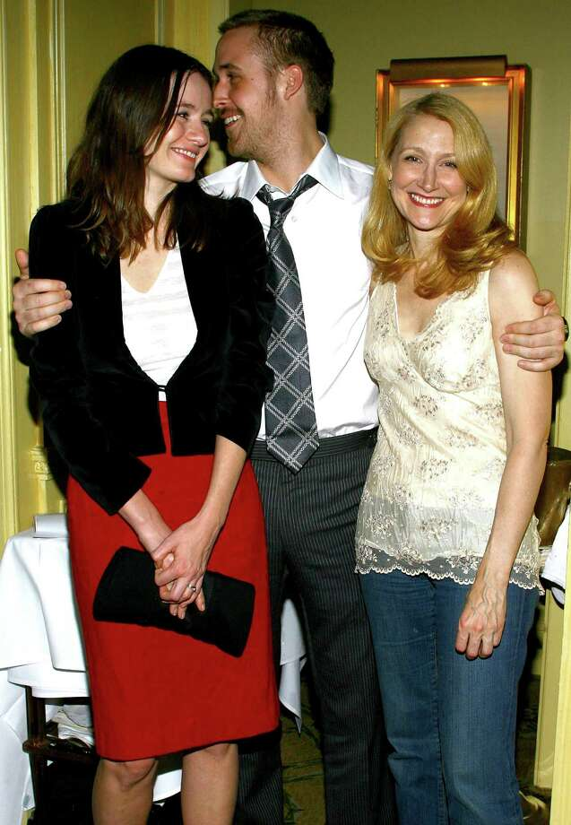 ... and Emily Mortimer (left) and Patricia Clarkson (right) at a 2007 screening of Lars and the Real Girl. Photo: Scott Wintrow, Getty Images / 2007 Getty Images