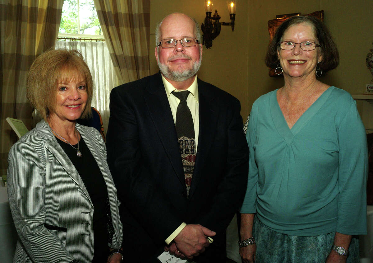 Barbara Johnson (from left), Chris Meister and Gayle Spencer