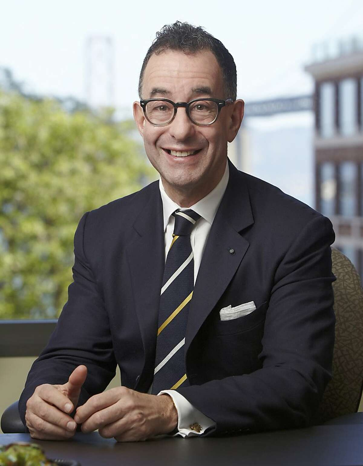 Colin B. Bailey, newly appointed director of the Fine Arts Museums of San Francisco.