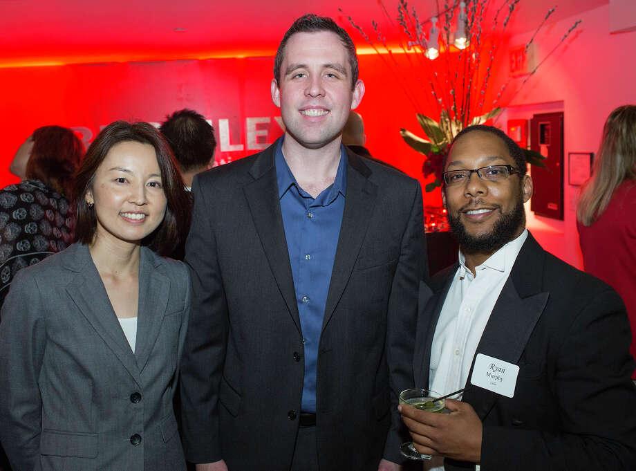 Akiko Fujimoto (from left) Jamin Kirkwood and Ryan Murphy Photo: J. MICHAEL SHORT, FOR THE EXPRESS-NEWS / THE SAN ANTONIO EXPRESS-NEWS