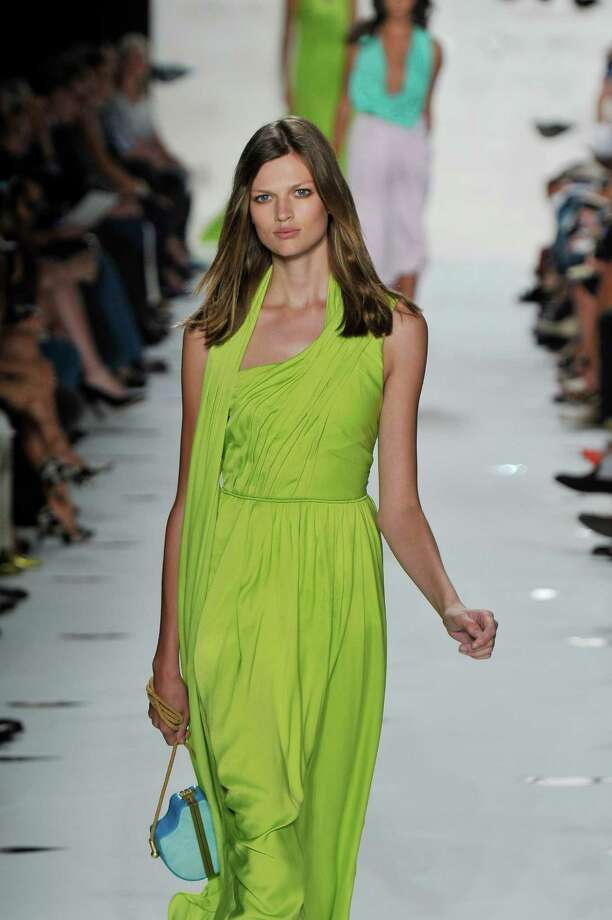 A model walks the runway at the Diane Von Furstenberg Spring Summer 2013 fashion show during New York Fashion Week on September 9, 2012 in New York, United States. Photo: Chris Moore/Catwalking, Getty Images / 2012 Catwalking