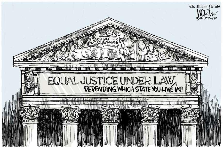 Cartoon by Morin,  Miami Herald