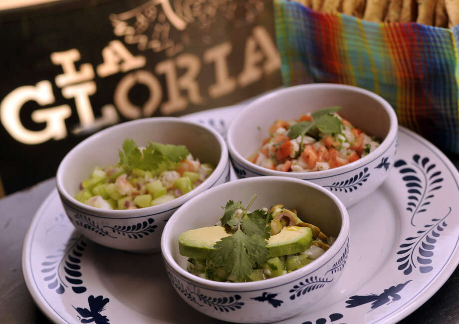 La Gloria Ice House, 100 E. Grayson St., is known for its various types of ceviche. Photo: Express-News File Photo
