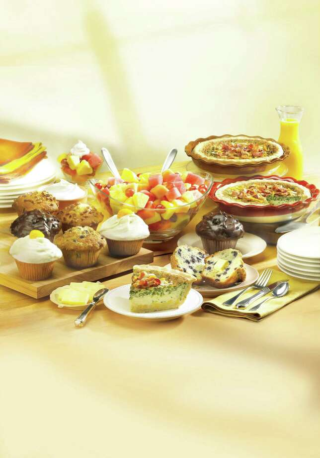 This 'Brunch Feast' from Marie Callender's serves 8, and is perfect for an Easter brunch. ($39.99.). Photo: Courtesy Photo