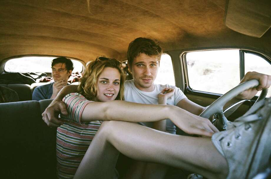 "Sam Riley (from left), Kristen Stewart and Garrett Hedlund are ""On the Road"" in the film based on the Jack Kerouac novel. Photo: IFC Films"