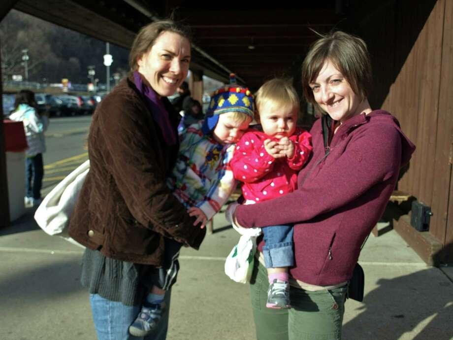 Were you SEEN at the Danbury Stew Leonard's Easter egg hunt? Photo: Nuria Ryan