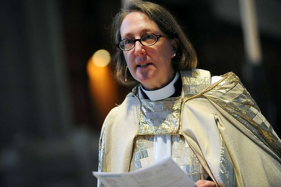 The Very Rev. Jane Shaw is dean of Grace Cathedral. Photo: Michael Short, Special To The Chronicle