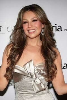 NEW YORK - OCTOBER 14:  Singer Thalia attends the Fiesta 2008 hosted by Casita Maria at the Mandarin Oriental Hotel on October 14, 2008 in New York City.  (Photo by Will Ragozzino/Getty Images) Photo: Will Ragozzino, Stringer / Getty Images North America