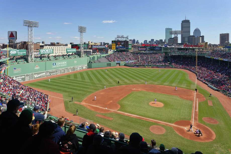 Storied Fenway Park, home to the Boston Red Socks, is No. 5. Photo: David Madison, Getty Images / (c) David Madison