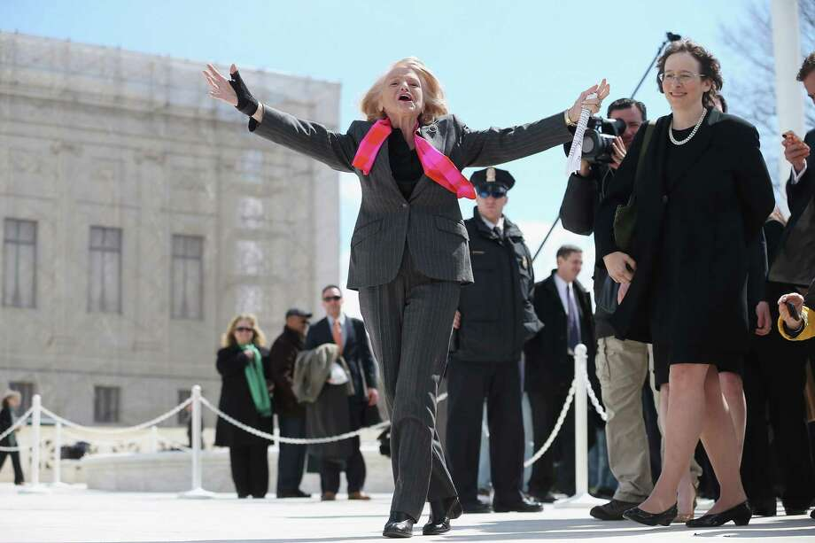 Edith Windsor, gay marriage pioneer — FINALIST Photo: Chip Somodevilla, Getty Images / 2013 Getty Images