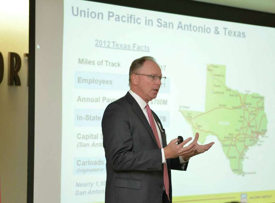 CFO Robert Knight says Union Pacific, aided by a surge in revenue and responding to the increase in business, spent $130 million last year on capital improvements in the region. Photo: Courtesy Photo