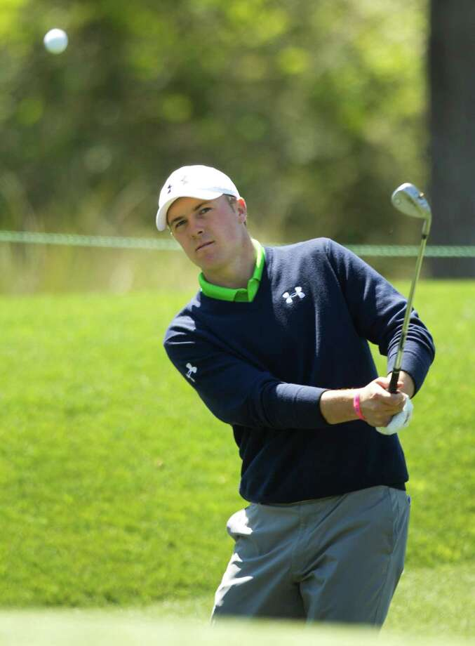 With a practice round on Redstone's Tournament Course under his belt following recent successes on the PGA Tour, Texas teen Jordan Spieth believes he's up to the challenge of winning the Shell Houston Open this week. Photo: Brett Coomer, Staff / © 2013 Houston Chronicle