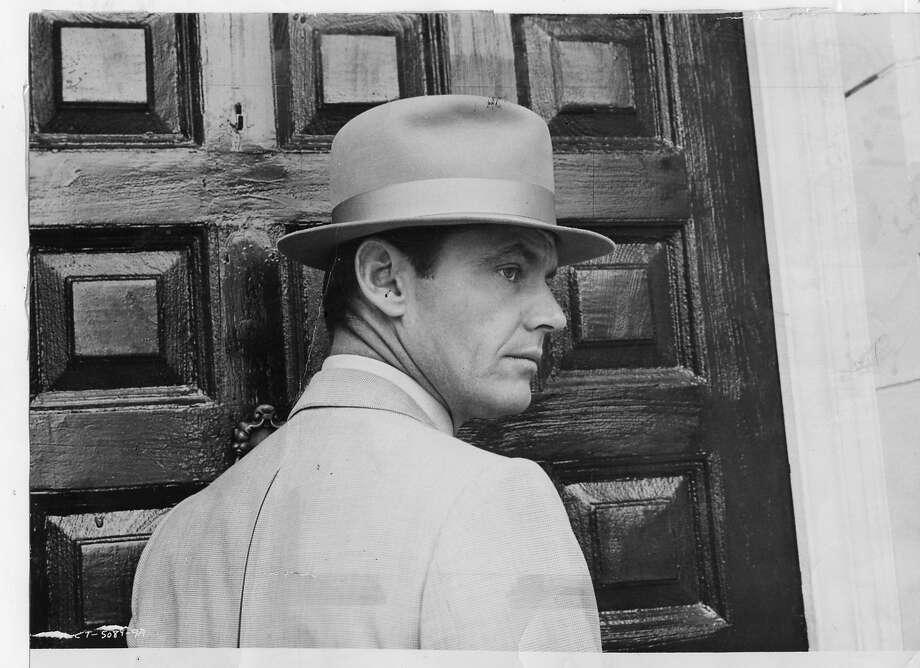 """Jack Nicholson in """"Chinatown."""""""