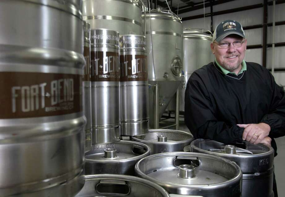 Ty Coburn owner of Fort Bend Brewing Co. poses in the brewery Friday, March 15, 2013, in Missouri City. ( Melissa Phillip / Houston Chronicle ) Photo: Melissa Phillip, Staff / © 2013  Houston Chronicle
