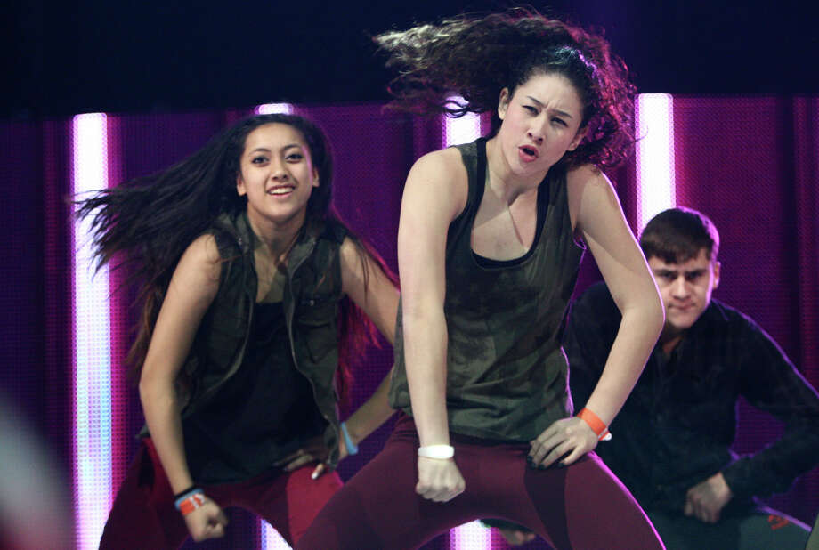 Members of RNG Dance Crew perform during We Day. Photo: JOSHUA TRUJILLO / SEATTLEPI.COM