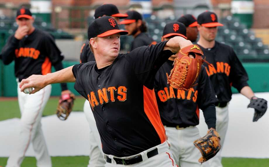 MATT CAIN (2013) Cain is the 29th San Francisco Giants pitcher to receive the honor of Opening Day starter. History is on his side. The SF Giants have played the Dodgers 11 times to start the season with a 7-4 record. Photo: Michael Macor, The Chronicle / ONLINE_YES