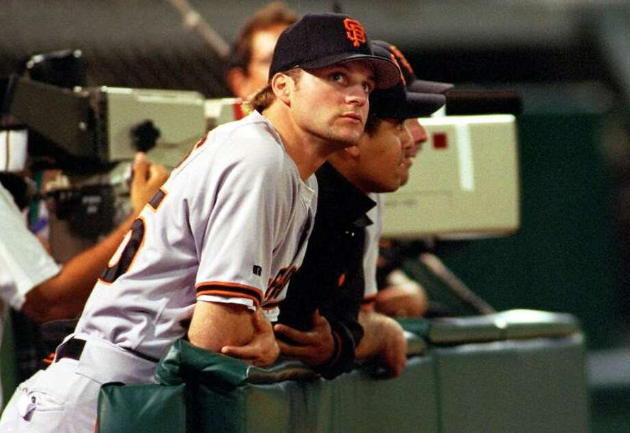 SEAN ESTES (1998): Remembered for his inconsistency as a San Francisco player, Estes more than deserved his Opening Day start. It came after his best season as a major leaguer in 1997 -- finishing 19-5 with a 3.18 earned run average. Photo: CARLOS AVILA GONZALEZ, PHOTOG AND SOURCE / SAN FRANCISCO CHRONICLE