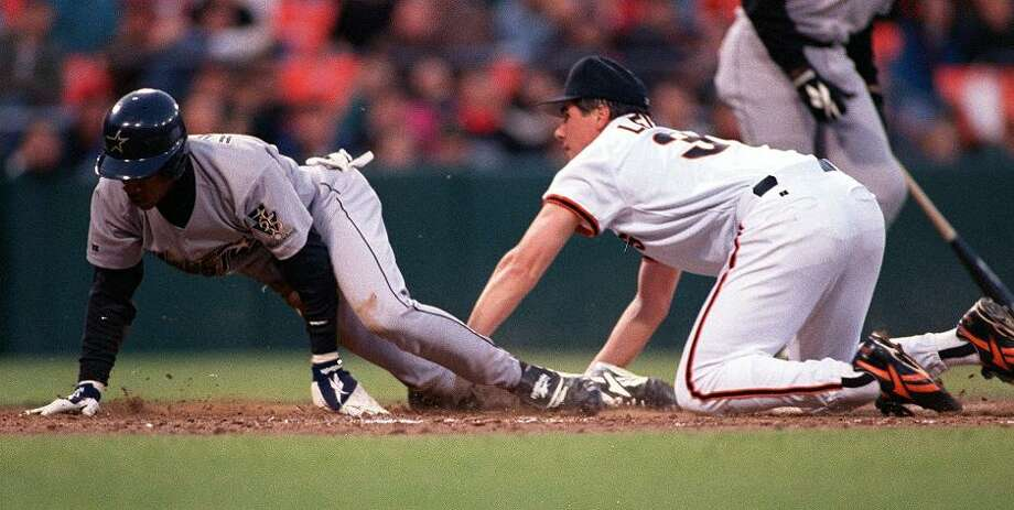 MARK LEITER (1996): I'm a Giants fan, and barely remember Leiter, who pitched 53 starts with the team between 1995 and 1996. This was one of the worst Giants seasons for a Opening Day starter -- he finished 4-10 with a 5.19 earned run average, and was traded to Montreal the next season. Photo: JOHN O'HARA