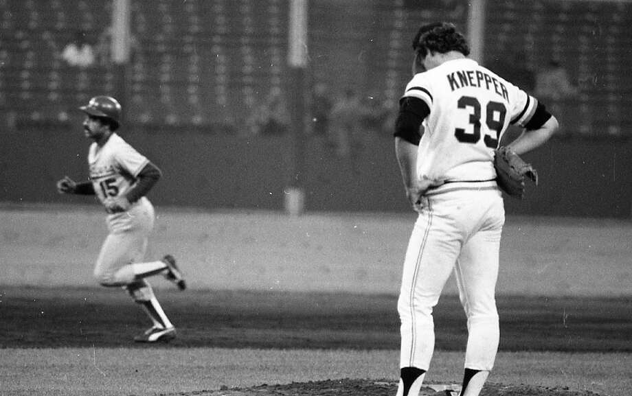 BOB KNEPPER (1980) Giants pitcher Bob Knepper is pulled after Dusty Baker hits a grand slam in an Aug. 10, 1979 win over the Giants. Knepper was 17-11 with 6 shutouts for the Giants in 1978, but was a bust in 1980. He was traded to Houston, where he became an ace for several years. Photo: Fred Larson, The Chronicle / ONLINE_YES