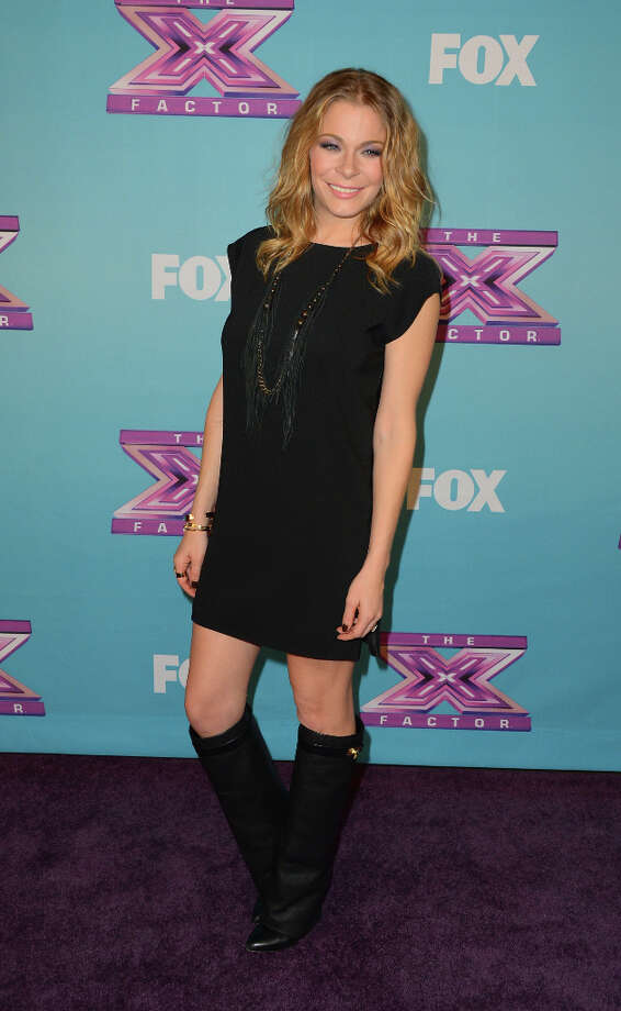 Singer LeAnn Rimes arrives at Fox's The X Factor Season Finale Night 1 at CBS Televison City on December 19, 2012 in Los Angeles, California. (reader suggestion) Photo: Frazer Harrison, Getty Images / 2012 Getty Images