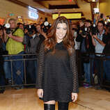 Kourtney Kardashian arrives at Kardashian Khaos at The Mirage Hotel and Casino on January 19, 2013 in Las Vegas, Nevada. (suggested by a number of readers in a blanket rejection of anything Kardashian)