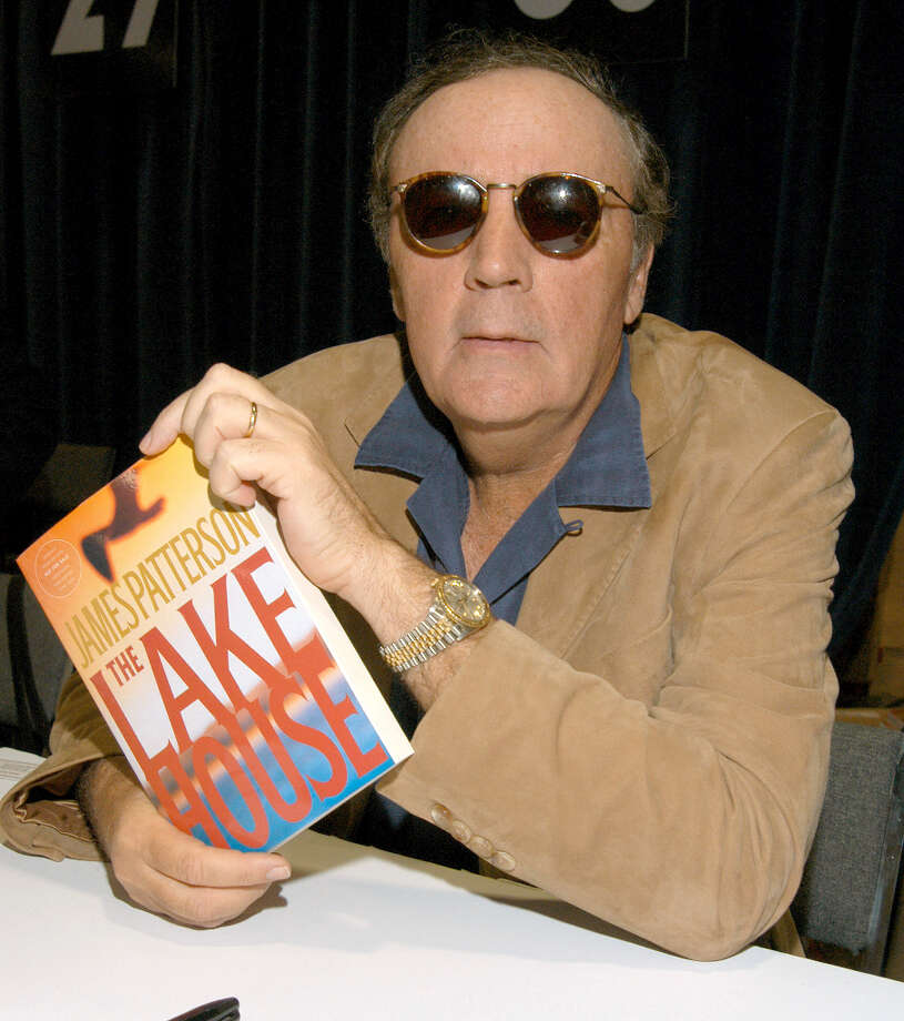 James Patterson and book The Lake House (suggested by drimblewedge) Photo: Mark Sullivan, WireImage / WireImage
