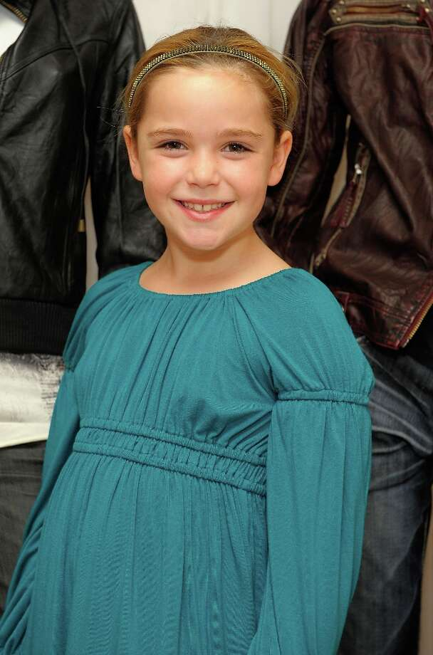 Kiernan Shipka, who plays Sally Draper, made her onscreen debut in 'ER' at five months old, before appearing in many commercials and print ads. She's pictured at the 2008 Emmys. Photo: Charley Gallay / 2008 Getty Images