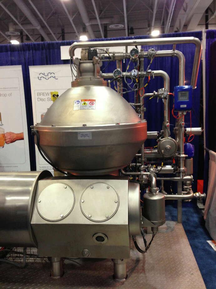 A centrifuge.