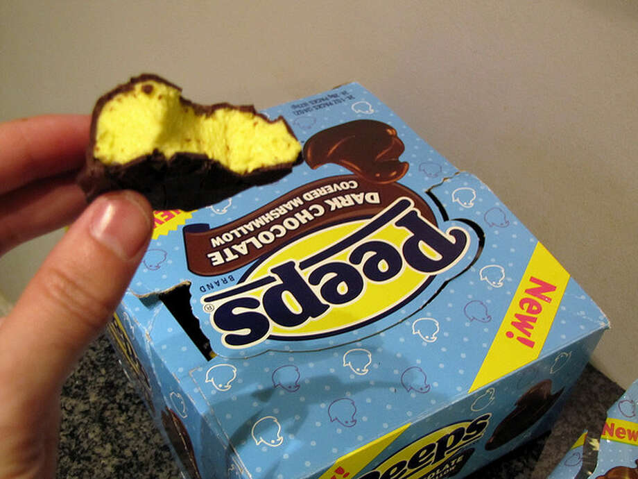 Chocolate-covered Peeps (David Berkowitz / Flickr Creative Commons)