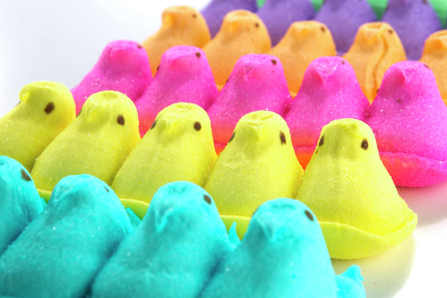 Peeps - gelatin (animal collagen) Keep clicking to see which other foods made the list. Photo: Brett Coomer, Houston Chronicle / Houston Chronicle