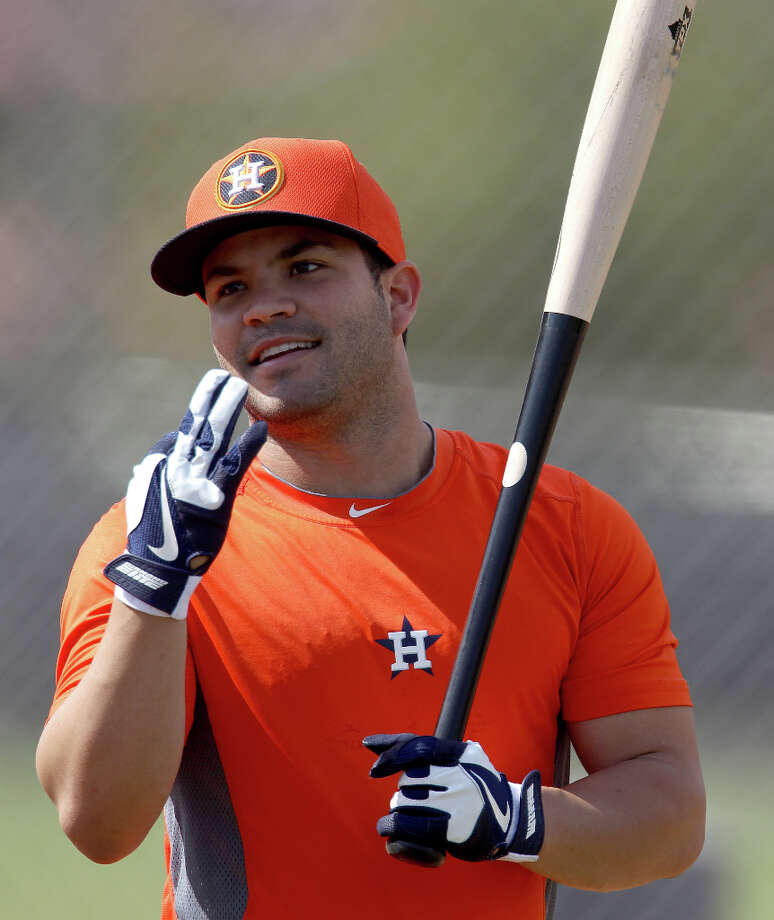 2B Jose Altuve Photo: Karen Warren / © 2013 Houston Chronicle