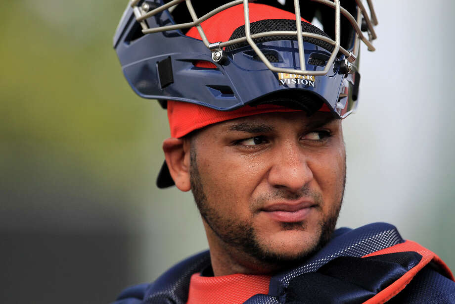 RESERVE PLAYERSC Carlos Corporan Photo: Karen Warren / © 2013 Houston Chronicle