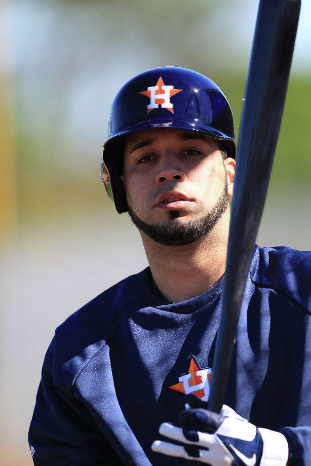 2B/SS Marwin Gonzalez Photo: Karen Warren / © 2013 Houston Chronicle