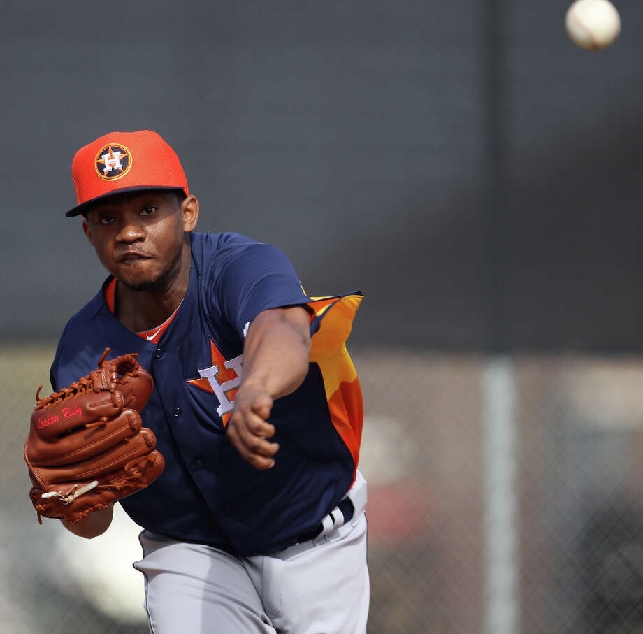 Wesley Wright (LHP) Photo: Karen Warren / © 2013 Houston Chronicle